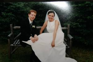 Dallas and Leanne Friesen wedding August 27, 2003